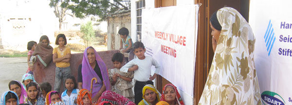 Civic Education & Women Empowerment Programmes with partner organisation 'SIDART' in the Indian state of Rajasthan